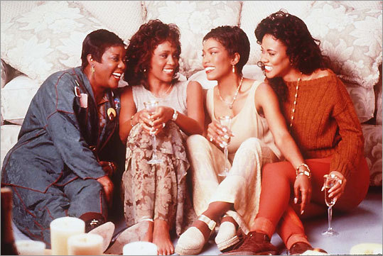 Whitney Houston stars in 'Waiting to Exhale,' 1995