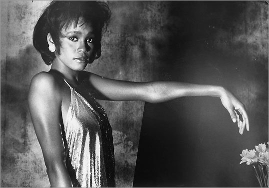 Whitney Houston poster, 1988