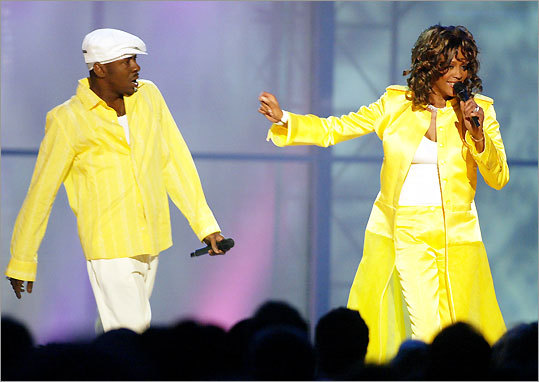Whitney Houston and Bobby Brown in 2003