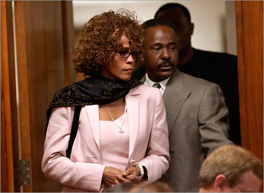 Whitney Houston and Bobby Brown, 2003