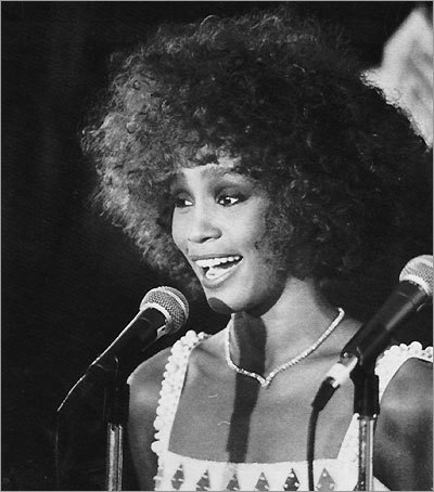 Whitney Houston, 1986
