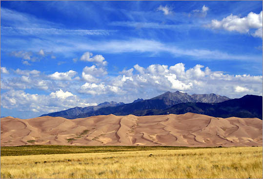 Great Sand Dunes National Park in Mosca, Colo.