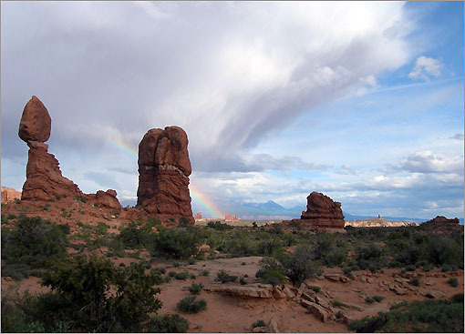 Arches National Park in Moab, Utah.