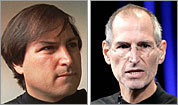 Steve Jobs over time