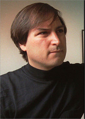 A look at Steve Jobs in 1993. In 1997, Apple bought out NeXt, bringing Jobs back to the original company he founded.
