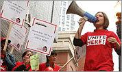 Protesting Hyatt