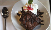 Brownie Sundae at Big Papi's Grille in Framingham