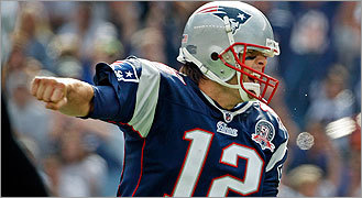 Brady, Patriots fly past Ravens