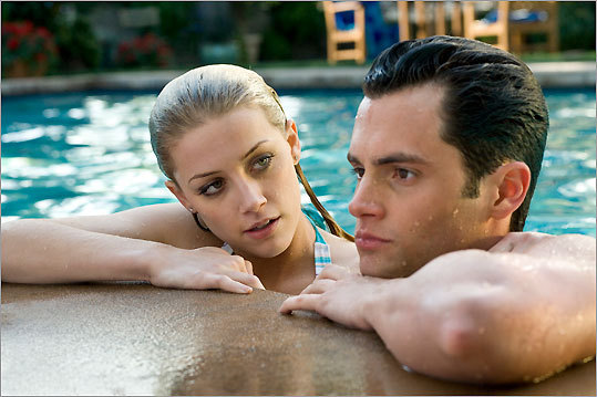 Amber Heard and Penn Badgley