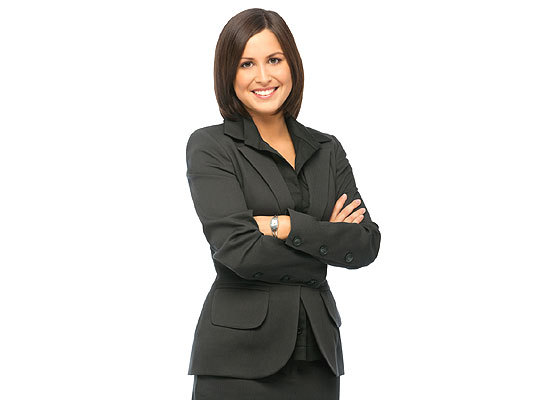 A jacket is a great way to show power and gain respect, says Mary Lou Andre, editor of www.dressingwell.com. 'I tell a lot of women who have gotten in the habit of dressing down that they could be sending messages that they're inexperienced and not taking the job seriously if they're not wearing a jacket.'