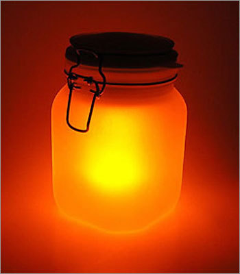 Sun Jar Price: $35.95 It's like candlelight - in an airtight jar. This solar-powered lamp captures sunlight throughout the day and gives off a glow for up to five hours at night. Even better: it doesn't require batteries, making it all-around environmentally-friendly.