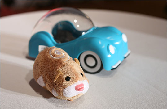The Zhu Zhu Pets hamster, an interactive mechanical rodent that sells for $9.99 and is being compared to Furby a decade ago, is almost impossible to nab because it's selling so quickly, the Associated Press reports .