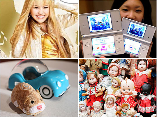 Wondering what the girls want for the holidays? Each year, the National Retail Federation surveys consumers to find out which toys ranked highest on girls' wish lists. Take a look at the most sought-after toys this year.