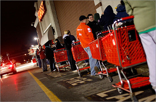 Black Friday - the day after Thanksgiving - is us
