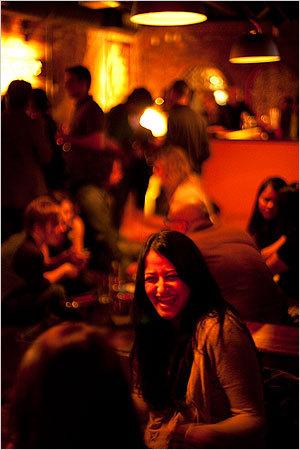 Seema Mavumkao of Orange, Conn., laughed with her friend Mary Ellen D'Agostino of Cambridge.