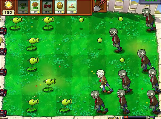 Plants Vs. Zombies Platform: Windows or Macintosh PC Price: $19.95 The concept behind the game - plants killing zombies - makes no sense at all, until you play it, says Globe reporter Hiawatha Bray said. 'Within minutes I was giggling with delight at the game's shrewd tactical design and loopy sense of humor,' he said. And it's family-friendly: players get to blow things up sans all the blood and guts.