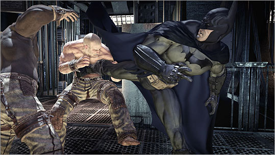 Batman: Arkham Asylum Platforms: Playstation 3, XBox 360, and PC Price: $49.99 to $59.99 The caped crusader is back in digital form, and this time he's battling the Joker and other assorted lunatics inside a Gotham City psychiatric hospital in this third-person shooter. Use your variety of unique weapons to take down the bad guys and restore order to Gotham's huge asylum.