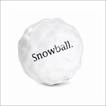 Orbee-Tuff Snowball Price: $10.95 For your dog A seasonal take on your dog's favorite toy - except this snowball doesn't melt. It has a 3-inch diameter, is recyclable, and rinses clean. An added perk: the toy's minty flavor will freshen your dog's breath.