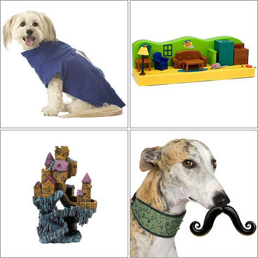 Ditch that dull dog toy or boring bird knickknack. The holidays are a perfect time to boost your pet's toy collection. These gifts will add excitement - and humor - to your game of fetch, walk in the rain, or fish tank. Bone up on some of this year's top gifts for cats, dogs, and beyond.