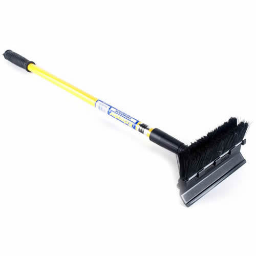 Extendable snow brush/scraper Price: $11.99 The snow has arrived early in New England this year, and you may know someone who is still fumbling around with their old, broken, foot-long snow brush. This Sub Zero Extender snow broom extends up to 4 feet, allowing easy brushing and scraping without having to move all around the car, slogging through snowbanks or slushy puddles.
