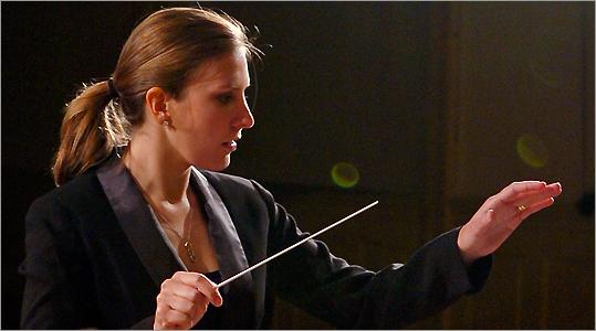 Juventas associate conductor Lidiya Yankovskaya