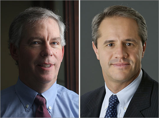 Dan Rice (left) and Denis Walsh Category: All US stock funds Fund: BlackRock Energy & Resources Portfolio Annual return: 22.6%