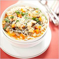 White bean and swiss chard stew