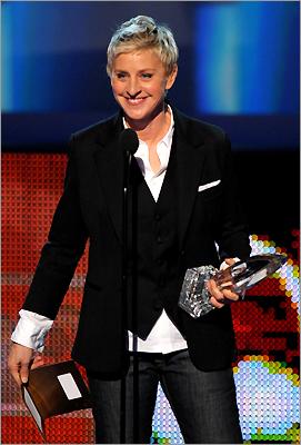 TV personality Ellen DeGeneres