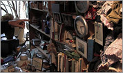 Inside a hoarder's home