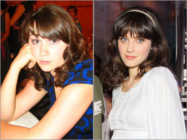 Janette Coleman and Zooey Deschanel
