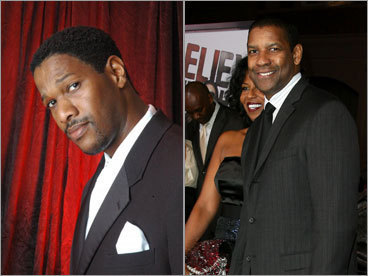 Malcolm Hughes and Denzel Washington
