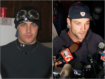 Zach Purcell and Wes Welker