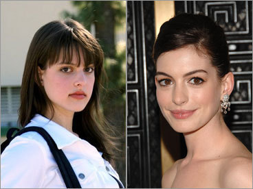 Chloe Michelle Richman and Anne Hathaway