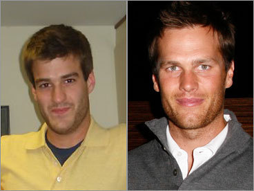 Brett Chizinski and Tom Brady