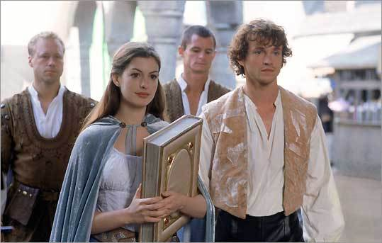 Anne Hathaway and Hugh Dancy in Tommy O'Haver's 'Ella Enchanted'