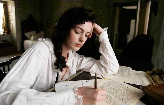 Anne Hathaway in 'Becoming Jane'