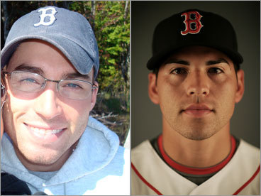 Michael Link and Jacoby Ellsbury