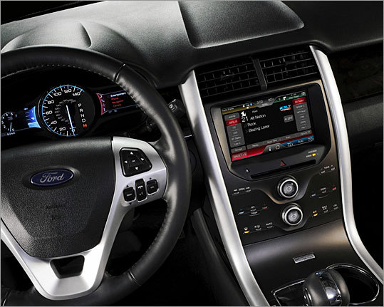 MyFord Touch redesigns the in-car interface, mirroring how consumers interact with most devices in their lives using touch-sensitive buttons, touch screens, thumb-wheel controls, and voice recognition.