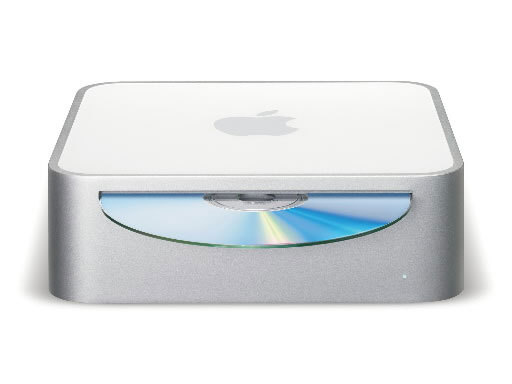 Mac Mini Unveiled: 2005 Apple's tiny box of a computer featured the minimalist design Apple had come to be known for, with a slot on the front for CDs and DVDs, and ports on the back for connecting a monitor, keyboard, and mouse (which were not included with the computer). The machine measured at a minuscule 6.5 inches by 2 inches, and weighed less than 3 pounds. It also came with Apple's OS X operating system and the iLife software suite.