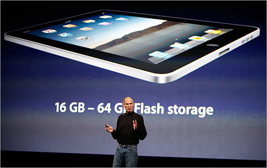 It is thin and light The iPad is only a half-inch thick, and weighs only 1.5 pounds. That's less than half the weight of an average netbook , according to About.com. The iPad also features a 1 GHz Apple A4 processor chip.