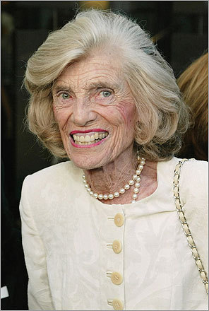 Eunice Kennedy Shriver, daughter of Joe and sister of Ted, John, and Robert, founded the Special Olympics in 1968.