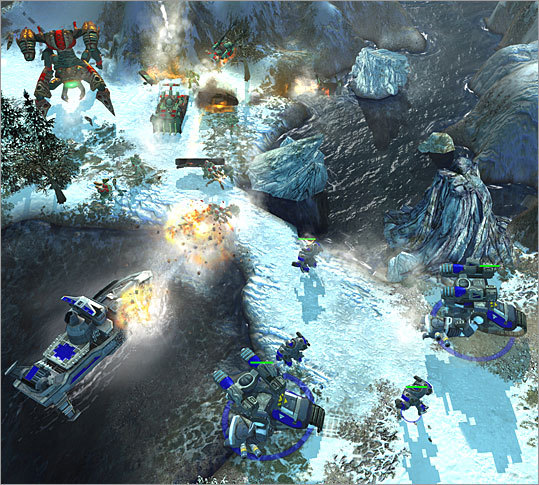 Empire Earth This 2001 real-time strategy title from Cambridge-based Stainless Steel Studios (now defunct) was an early adopter of 3D graphics in the genre. Mad Doc software of Andover (now Rockstar New England) picked up the series and produced a pair of sequels.