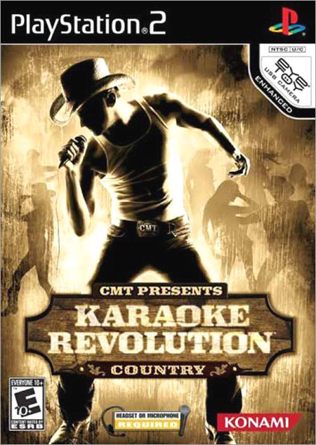 Karaoke Revolution Before Guitar Hero and Rock Band, Harmonix teamed with publisher Konami to create a US version of the popular Japanese singing game. Next time one of your friends grabs the mike and breaks into 'Like a Virgin,' you'll know who to thank (or blame).