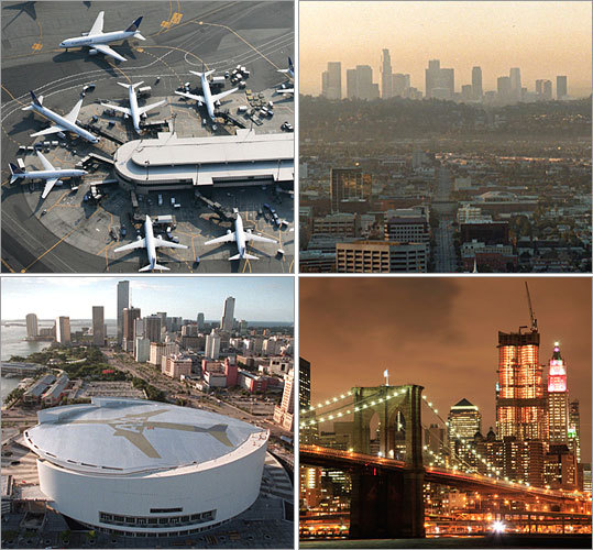 Boston's Logan Airport got skewered in a J.D. Power and Associates study on the most passenger-friendly airports in North America, but it wasn't named the worst airport out there. What was? Take a look to find out. The study's findings are broken down by airport size. Take heart, Bostonians: We still beat New York. Compiled by Marino Eccher, Boston.com correspondent
