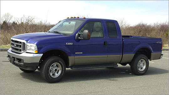 10. Ford F-250 series Ford's line of heavy-duty pickup trucks capped off the most recovered models list.