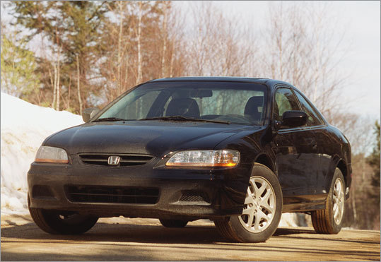2. Honda Accord Like the Civic, the Accord appears multiple times on the list of recoveries by model year. The 1997 and 1998 versions are both popular targets.
