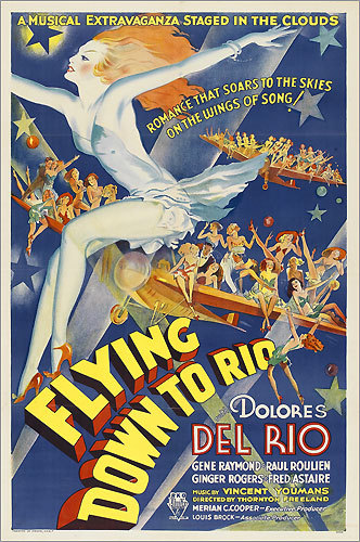 'Flying Down to Rio' poster