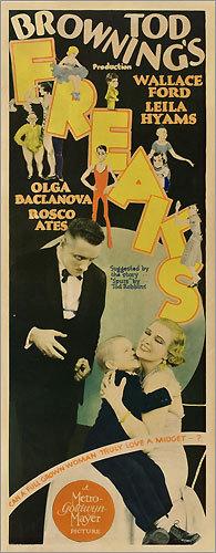 'Freaks' poster