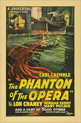 'The Phantom of the Opera' poster