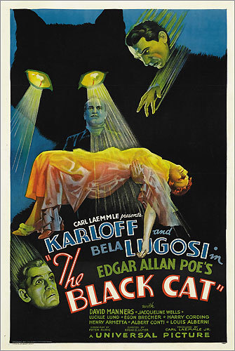 'The Black Cat' poster